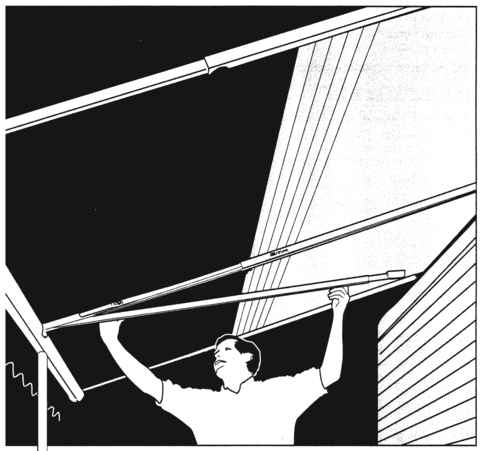 Rafter Tension With Ctr Sprt W Dometic Australia