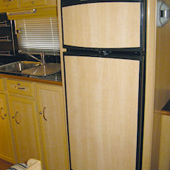 Caravan fridge freezer for sale