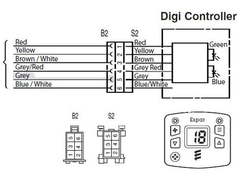 Dh D212v24v 801 Modulator on Eberspacher D4 Wiring Diagram